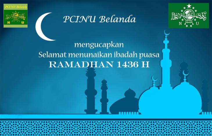 Ramadhan 1436H PCINU Belanda